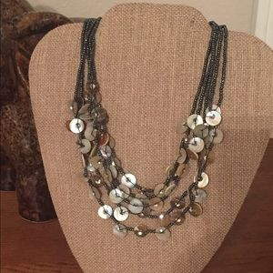 Jewelry - Natural Shell Bead Necklace